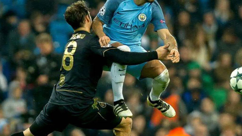 Ilkay Gündogan (rechts in hellblau) droht bei Manchester City erneut eine längere Verletzungspause