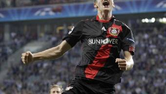 Lars Bender erzielte nach 30 Minuten das 1:0 für Leverkusen