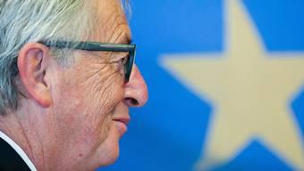 EU-Kommissionspräsident Jean-Claude Juncker plädiert am Mittwoch vor dem EU-Parlament in Strassburg in seiner Rede zur Lage der Union für einen Euro-Beitritts-Instrument.(Archiv)