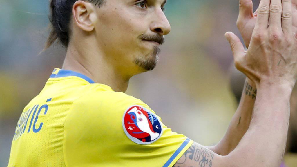 Wird nach der EM aus Schwedens Nationalteam zurücktreten: Zlatan Ibrahimovic