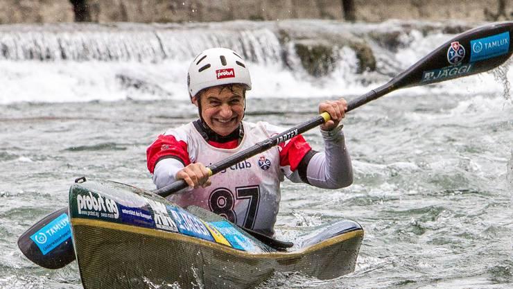 Sabine Eichenberger fährt einem weiteren Sieg entgegen.