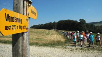 Die 22. Etappe führte von Endingen nach Baden