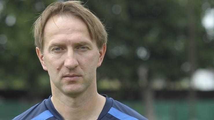 Der neue Old-Boys-Trainer Samir Tabakovic