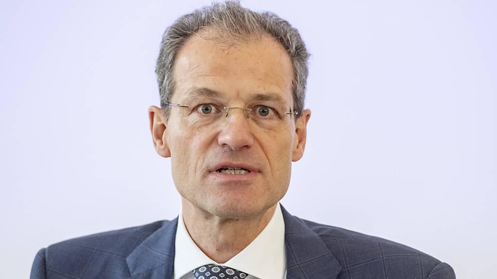 Luzerns Finanzdirektor Reto Wyss freut sich über den «willkommenen Zuschuss» der SNB. (Archivbild)