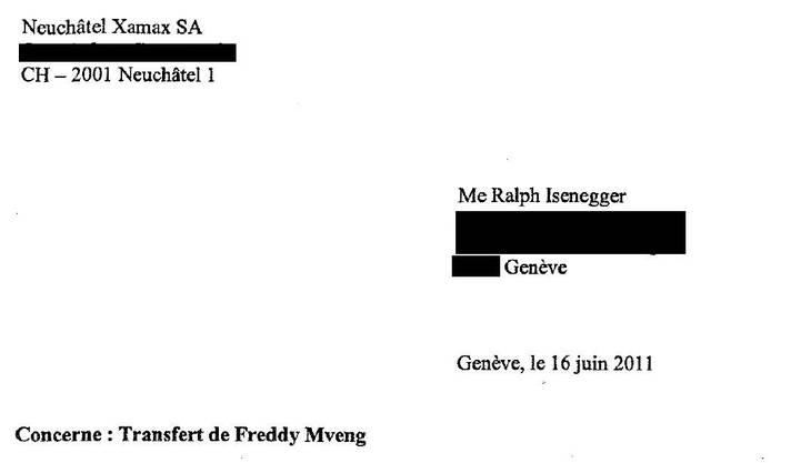 Die Vertragliche Vereinbarung zwischen Spielerberater Isenegger und Xamax-Neuenburg