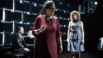 Barbara Grimm spielt Maria Callas. Bild  Ilja Mess