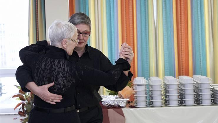 Seltenes Vorbild aus Deutschland: Altersheim für Lesben und Schwule in Berlin. SZ-Photo/Mike Schmidt