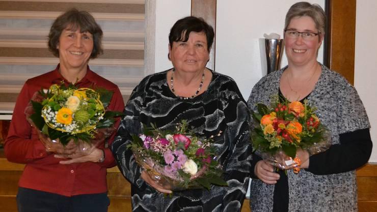 Rita Mettler, Rosi Schädeli, Susanne Fricker