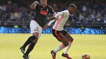Valencia mit dem Portugiesen Nani (rechts) kann doch noch gewinnen