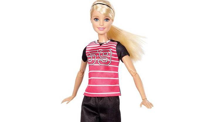 Barbie als Fussballerin