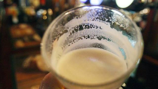 Pint in einem Pub in London (Symbolbild)