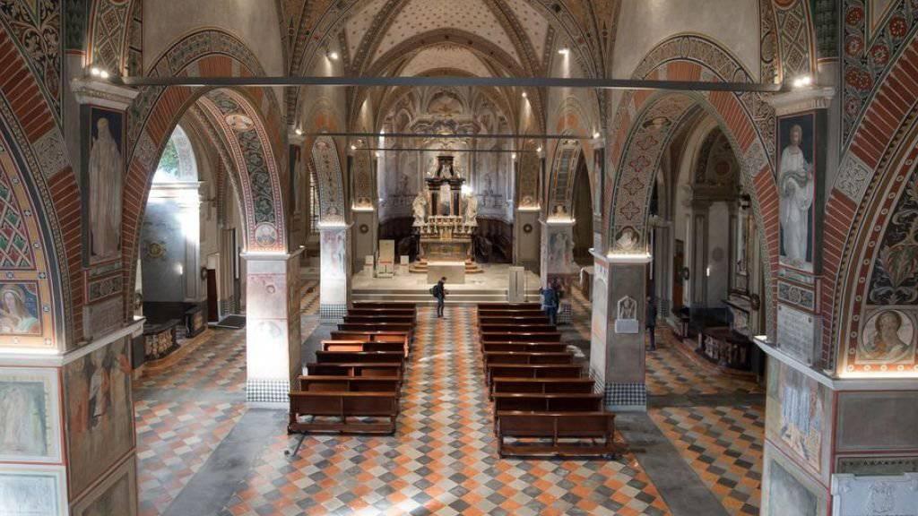 Nach sieben Jahren Restaurierungsarbeiten wurde die Kathedrale San Lorenzo von Bischof Valerio Lazzeri eingeweiht. (Archivbild)