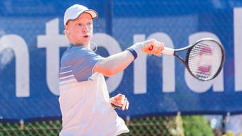 Beeindruckende Leistung: erstmals gewinnt Jonas Lüscher ein internationales U18-Turnier.