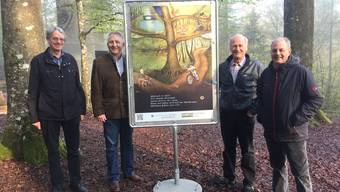 Projektbeteiligte: Martin Steinmann, Thomas Laube, Wili Bürgi und Frank Haemmerli.