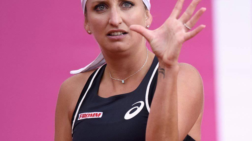 Timea Bacsinszky scheidet in Limoges aus, kann sich aber mit der Rückkehr in die Top 200 trösten