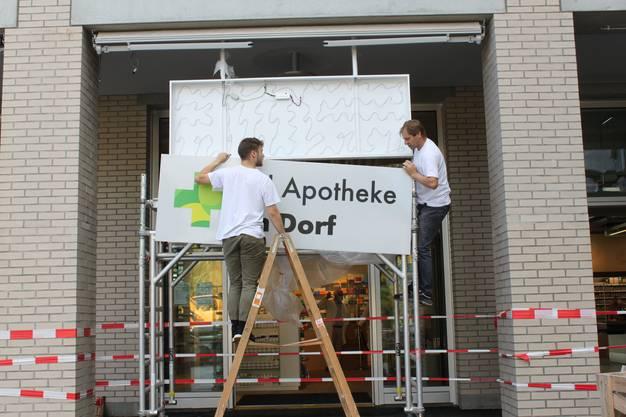 Auch die Pill Apotheke feierte gestern die Eröffnung des neuen Lokals.