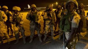 Am Donnerstagabend waren Dutzende Soldaten aus Nigeria in Malis Hauptstadt Bamako eingetroffen