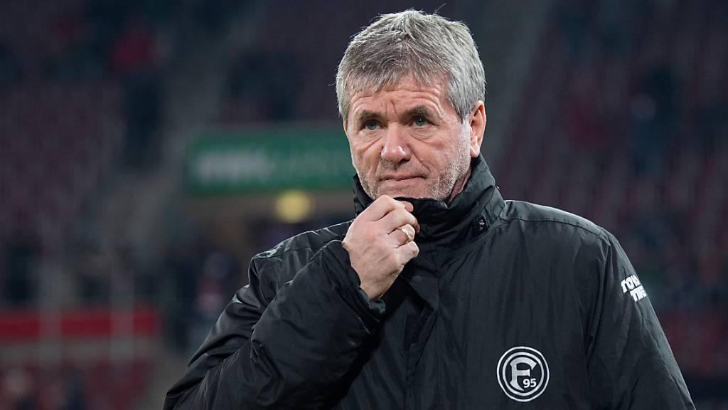 Trainerwechsel bei Bundesliga-Schlusslicht Düsseldorf