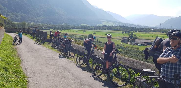 E-Bike Tour durch die Rebberge