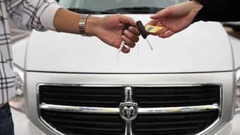 Garage Keigel wirbt für ihr Angebot Auto im Abo. (Symbolbild)