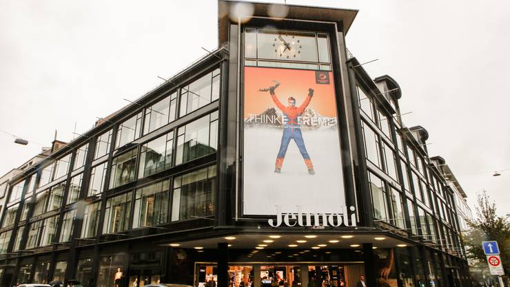 Grosse Ankündigung am Jelmoli Zürich