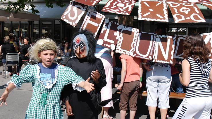 Über 2000 Kinder und Jugendliche sind am Jugendfest Baden beteiligt.AZ Archiv/katja schlegel