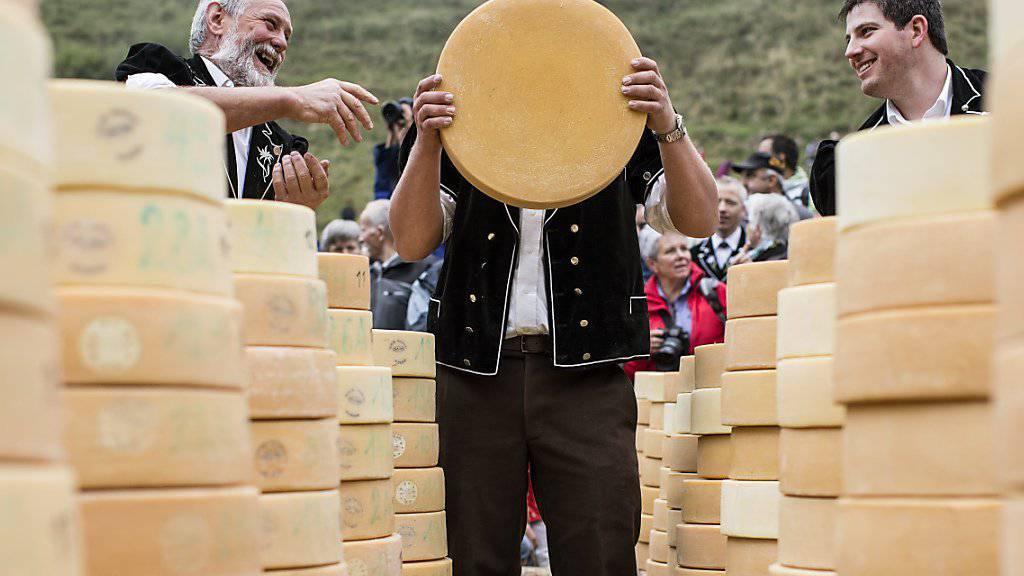 Kann dank dem Freihandelsabkommen EU-USA aus der Premium-Ecke heraus: Schweizer Käse. (Archiv)