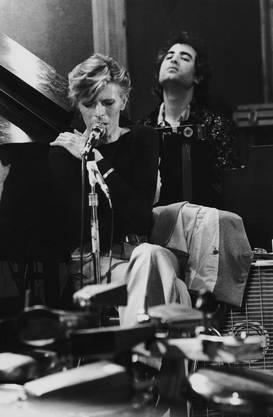 Mike Garson begleitete David Bowie auf mehr als 1000 Konzerten am Piano und Synthesizer – oben im Bild: Eine Aufnahme aus den 1970er-Jahren.