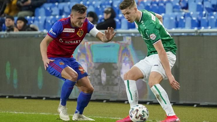 Wird Cedric Itten mit seinem FC St Gallen durch den Spielplan gegenüber FCB und YB benachteiligt?