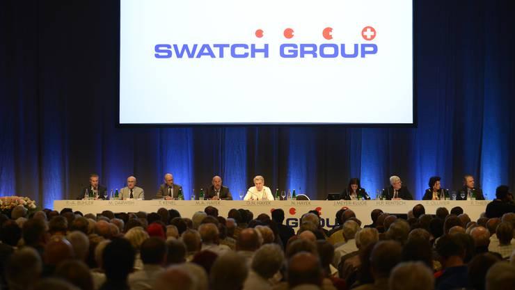 Die Swatch-Spitze informierte ihre Aktionäre.