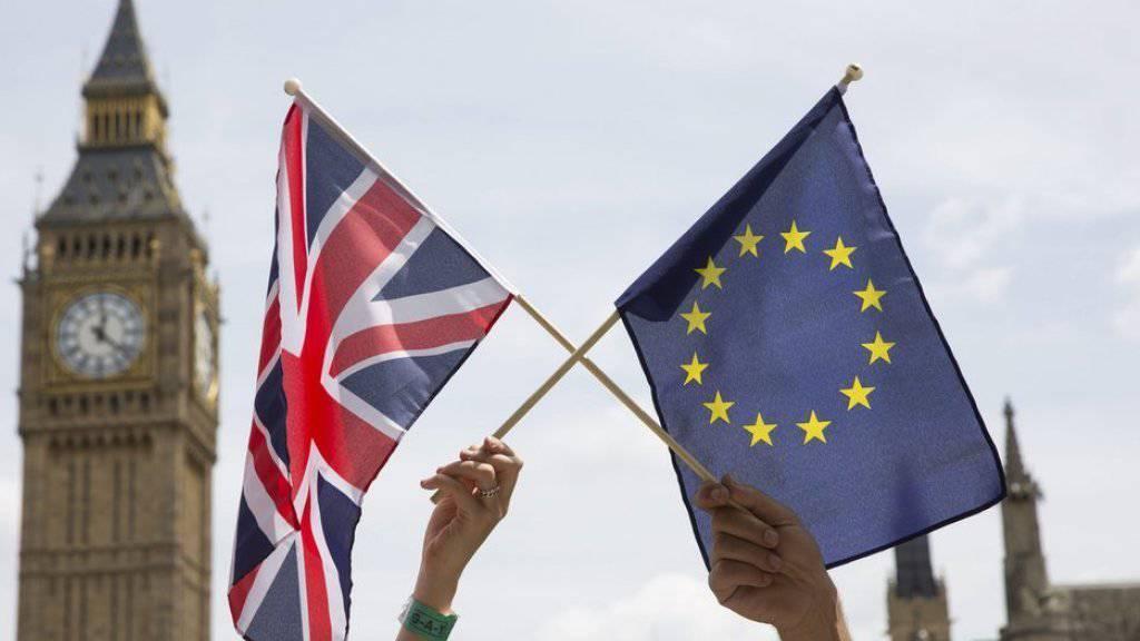 Aktuelle Brexit-Umfragen aus Grossbritannien deuten auf ein enges Abstimmungsergebnis hin. (Symbolbild)