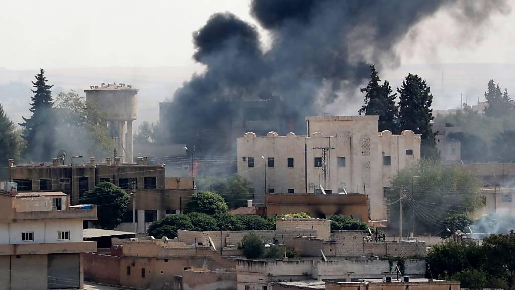 USA fordern sofortige Waffenruhe in Nordsyrien