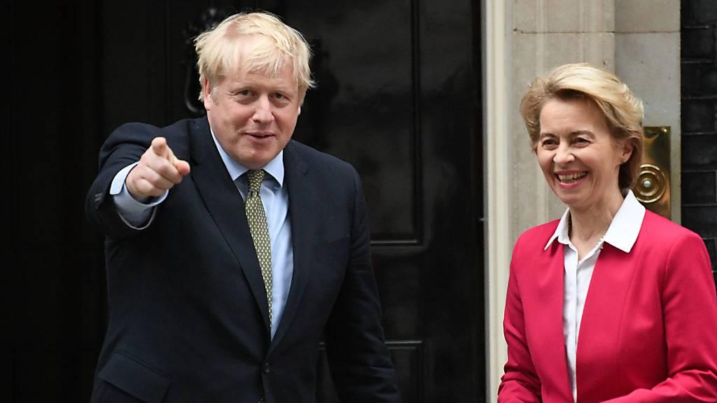 Brexit-Handelspakt wird Chefsache - Erfolg auf Messers Schneide