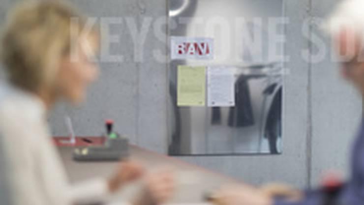Das Stellenwachstum hat sich fortgesetzt: ein Beratungsgespräch auf dem RAV (Archivbild).