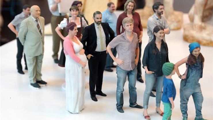 Täuschend echt: Die 3D-Figuren von PocketSize Me.