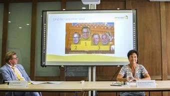 Ranking der Gewerbefreunde: An der Spitze steht, zur Freude des Verbands, FDP-Präsident Luca Urgese.