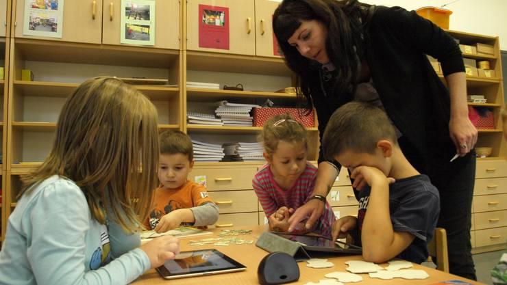 Im Aargau wird in den Kindergarten ab 2018 nur noch Mundart gesprochen – Ausnahmen sind möglich (Archivbild).