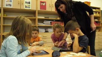 In Aargauer Kindergärten muss grundsätzlich Mundart gesprochen werden. (Symbolbild)