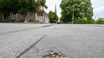 Die Lindenstrasse in Grenchen macht heute einen eher tristen Eindruck.