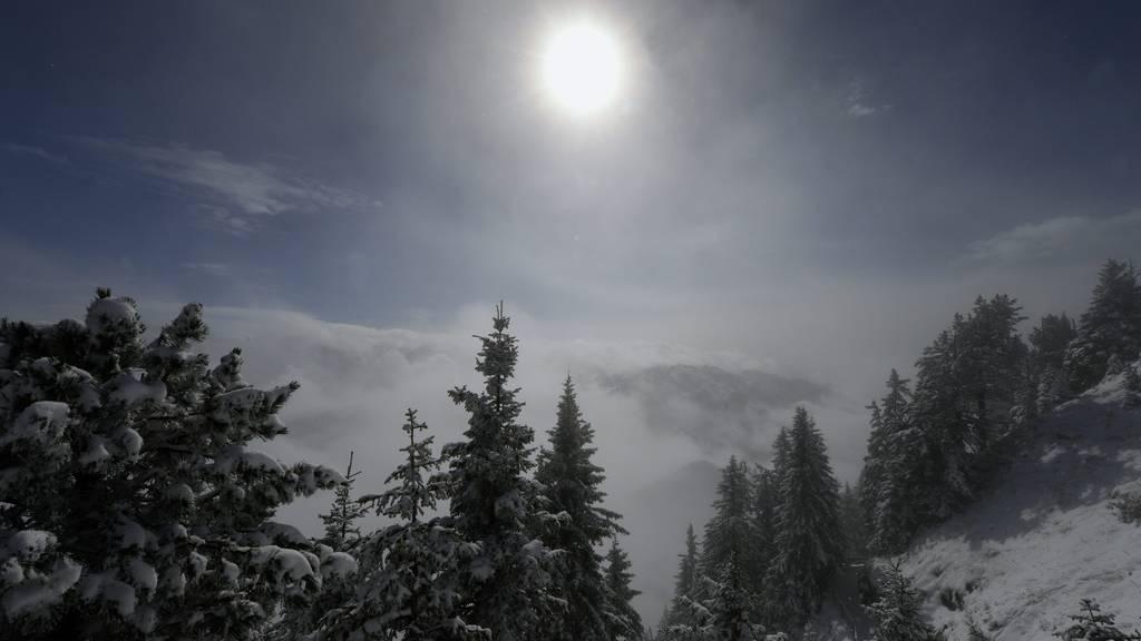 Jetzt gibt es kräftig Schnee in den Bergen