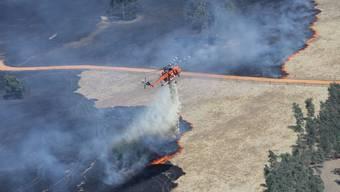 Buschbrände im australischen Bundesstaat Victoria