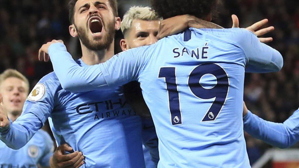 Manchester City weiter auf Meisterkurs