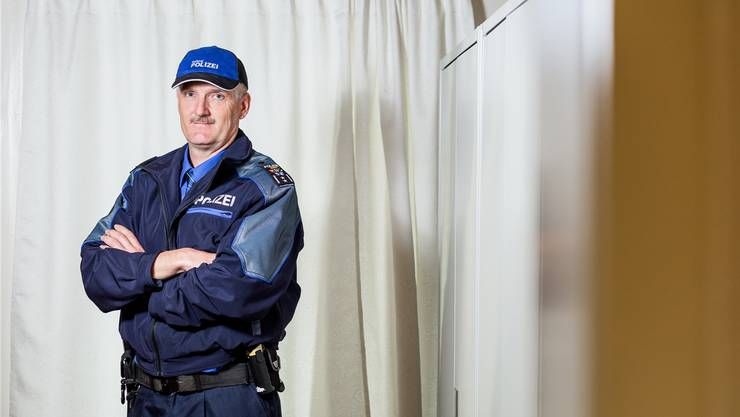 Thomas Zbinden ist Polizeichef der Regionalpolizei Suret.