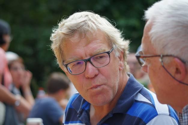 Der Aescher Gemeindepräsident Hans Jahn (Forum Aesch)