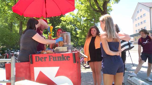 Aufstand in Berner Badis