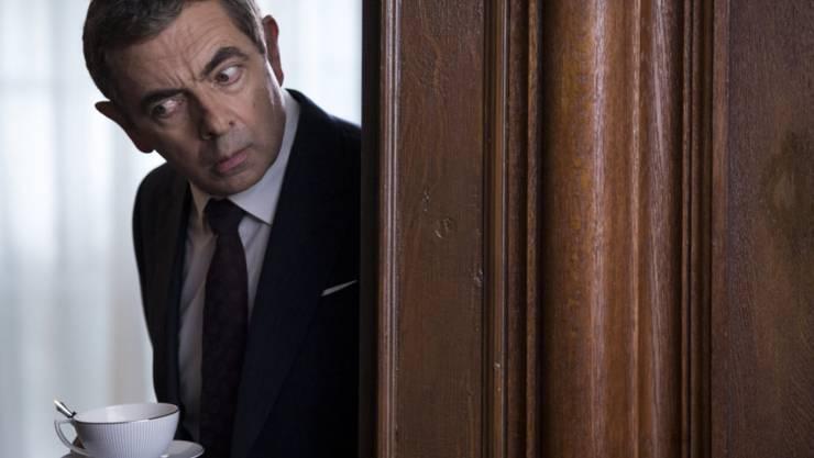 """""""Johnny English Strikes Again"""" mit Rowan Atkinson hielt am Wochenende vom 25. bis 28. Oktober 2018 in den Deutschschweizer Kinocharts die Spitze."""