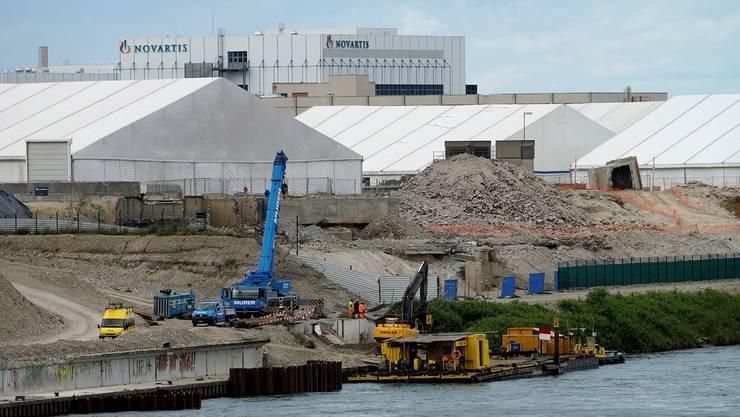 Bei den Sanierungsarbeiten der ARA Steih in Huningue gelangten 2013 Lindan-Altlasten in den Rhein und in die Luft. Kenneth Nars