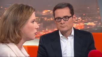 Sehen Sie die wichtigsten Ausschnitte aus der Sendung «TalkTäglich» mit FDP-Nationalrätin Christa Markwalder und SVP-Nationalrat Roger Köppel.