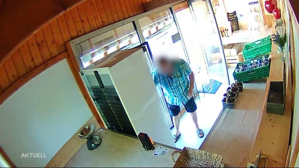 Trotz Überwachungskamera: Diebstahl im Hofladen