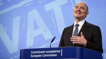EU-Wirtschaftskommissar Pierre Moscovici: «Die Unternehmen sollen ihre Steuern dort bezahlen, wo sie ihre Gewinne einfahren»